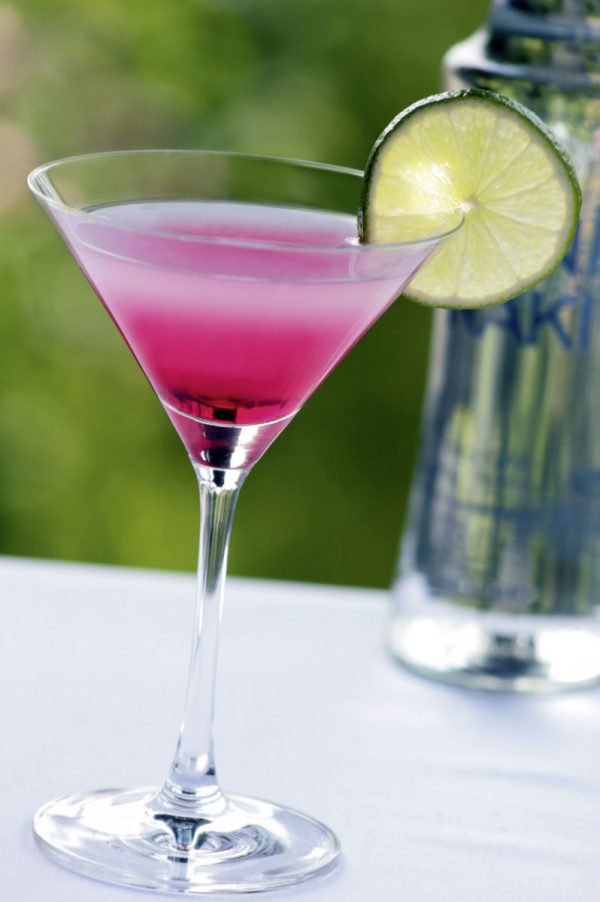 Sommer-Drink Martini