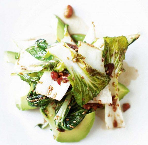 Pak Choi und Avocado - Rezept von Sasu Laukkonen