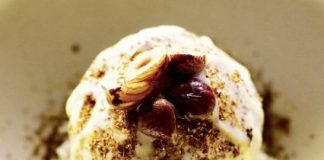 Pfifferling-Eiscreme – von Sasu Laukonnen