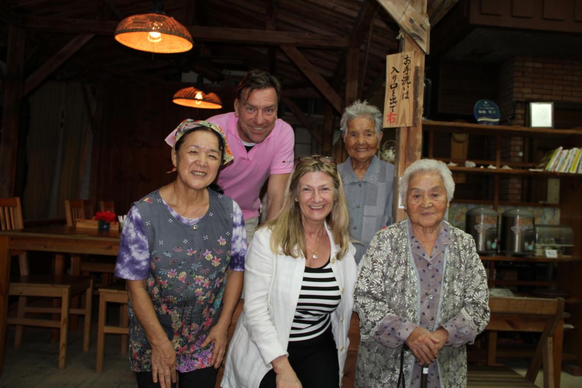Ryukyu-Essen Okinawa Hundertjährige