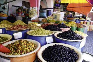 Sehnsuchtsorte Oliven Marokko Markt