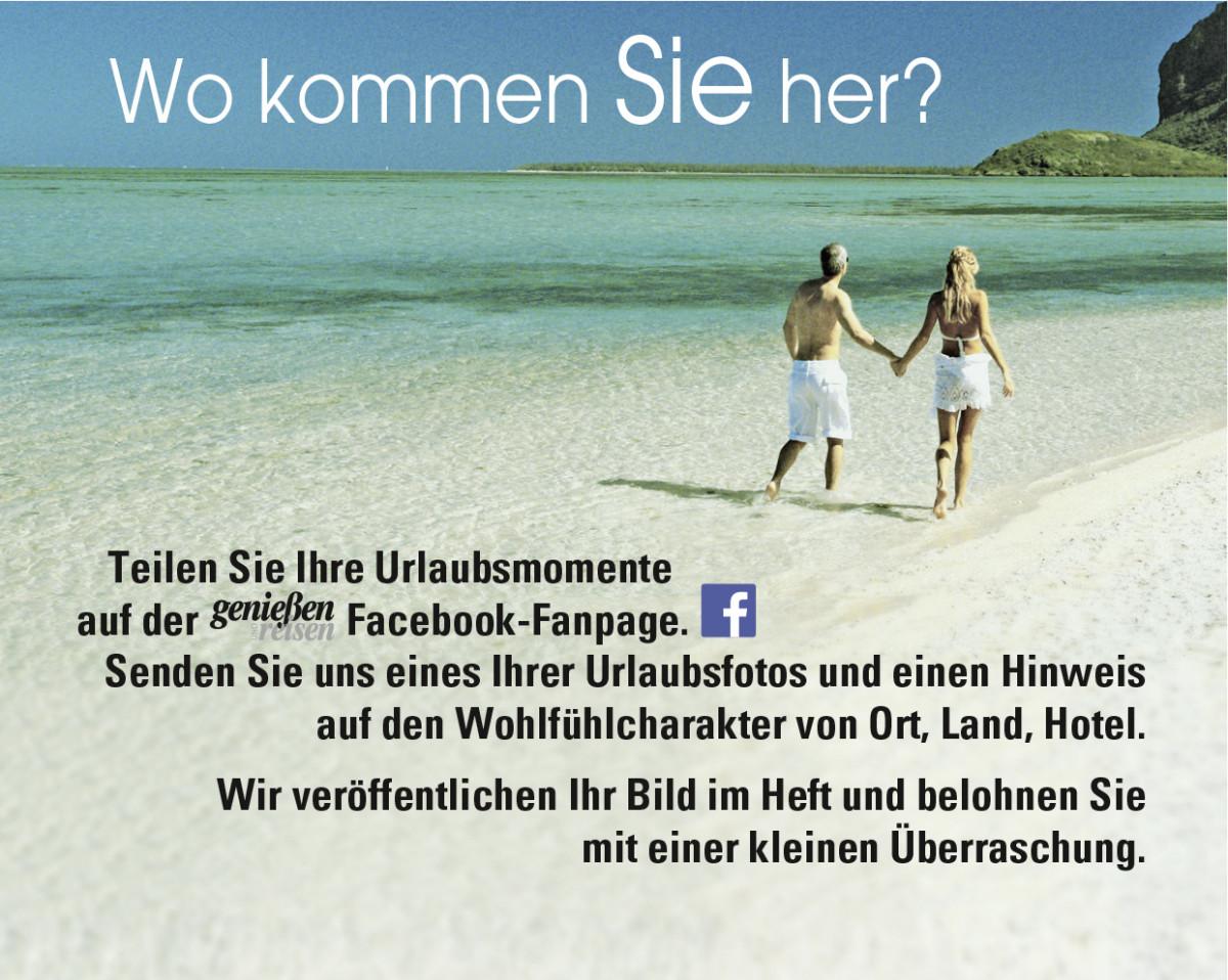 Genießen und Reisen Facebook Fanpage