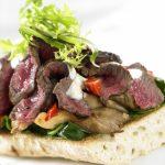 Rezepte irische Küche - Bruschetta mit Roastbeef