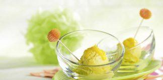Eis für Diabetiker: Frozen Joghurt Mango