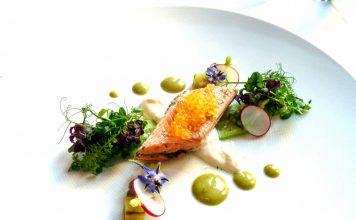 Rezept Seesaibling - Gurke - Meerrettich: Brandenburg kulinarisch - Gourmet Menü im Hotel und Restaurant Goldener Hahn inklusive 3 Übernachtungen für zwei Personen zu gewinnen!