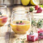 Cocktail mit Orangensaft: Orange Teatime mit Valensina Späte Ernte