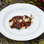 Rindsschultersteak mit geräuchertem Kartoffelpüree Boerna