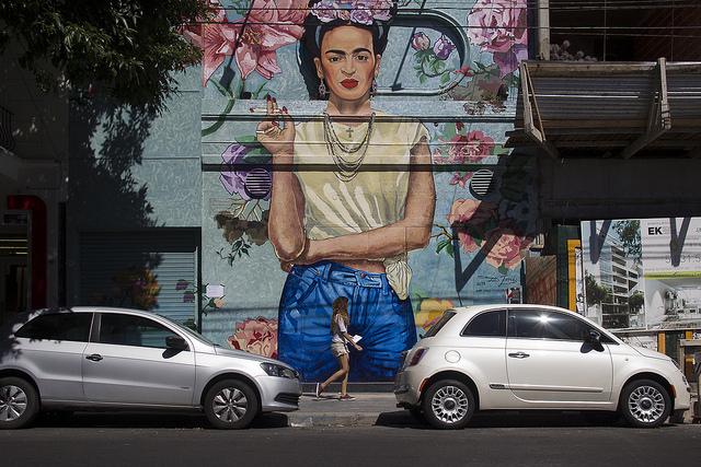 Straßenkunst in Buenos Aires - Colegiales