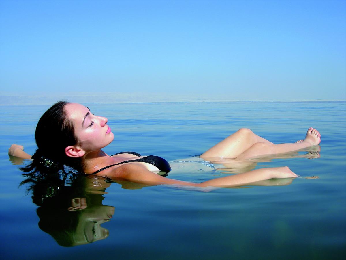 Das Tote Meer das größte Freiluft-Spa der Welt 2