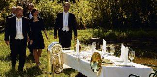 CD-Delicatessen von Harmonic Brass Musik und Essen - eine unwiderstehliche Kombination vom Blechbläserquintett Harmonic Brass