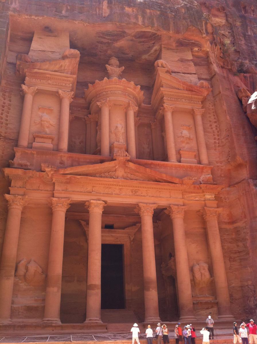 Rätselhafte Felsenstadt Petra 3
