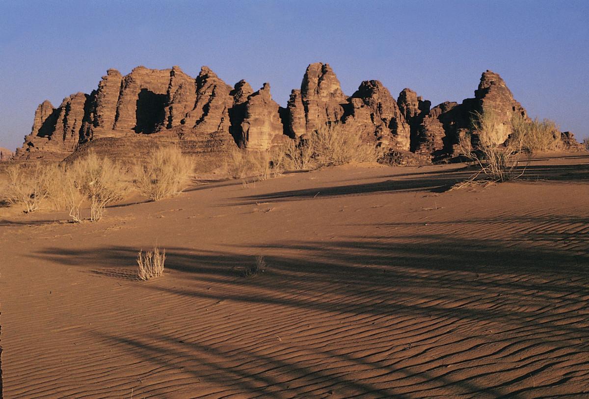 Im Reich der Wüstensöhne Jordanien Wadi Rum2
