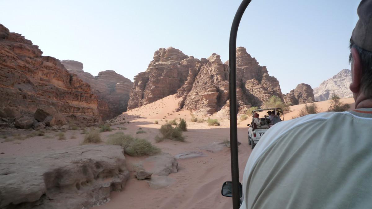 Im Reich der Wüstensöhne Jordanien Jeepsafari