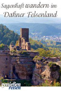 Auf Sagen-Spuren wandern im Dahner Felsenland