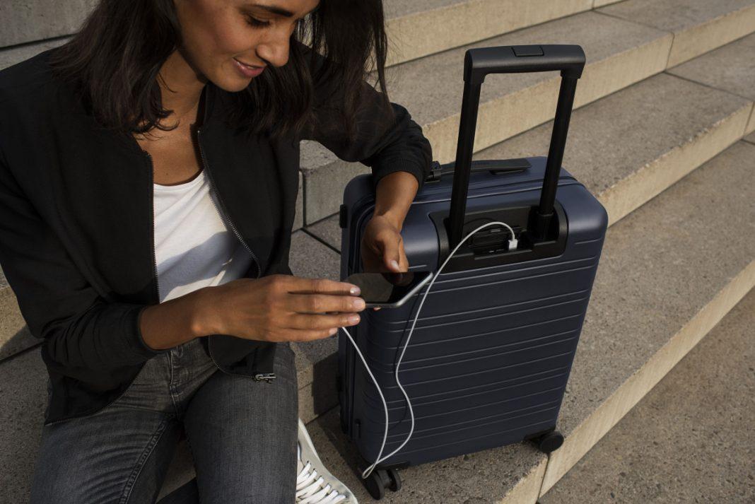 Koffer mit integriertem GPS