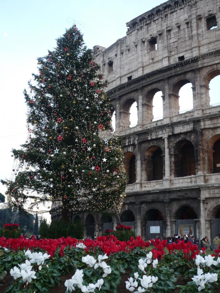 Rom im Winter
