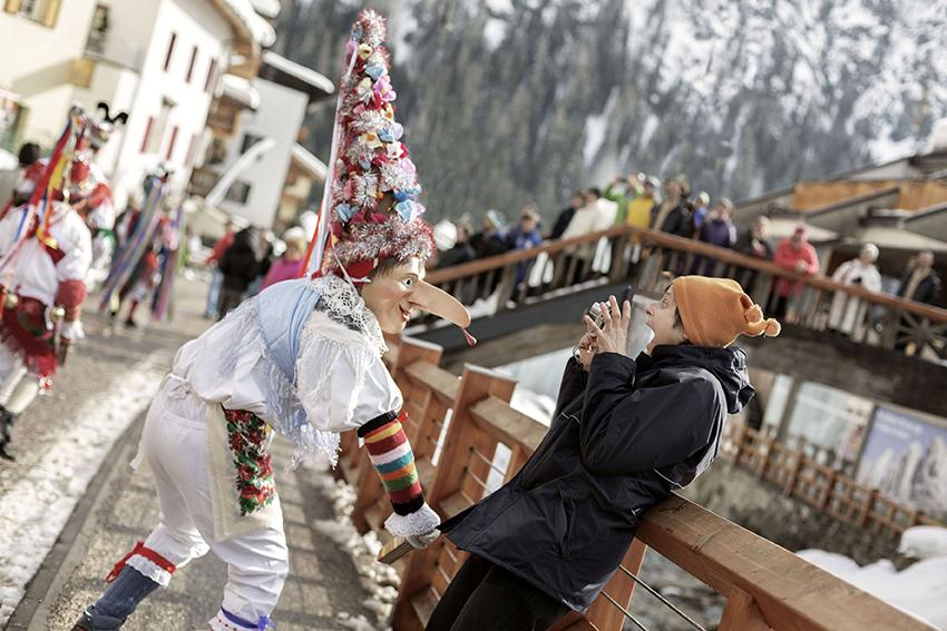 Karneval im Trentino