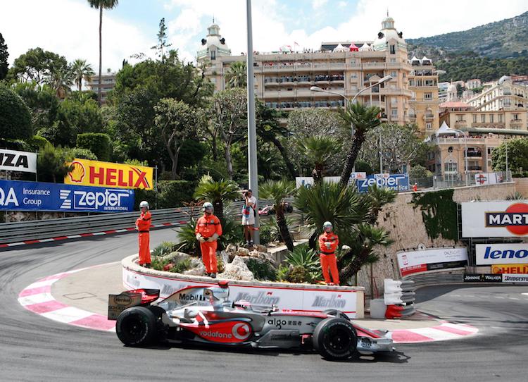 Monaco Autorennen Haarnadel