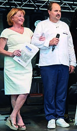 Johann Lafer und Silvia Lafer