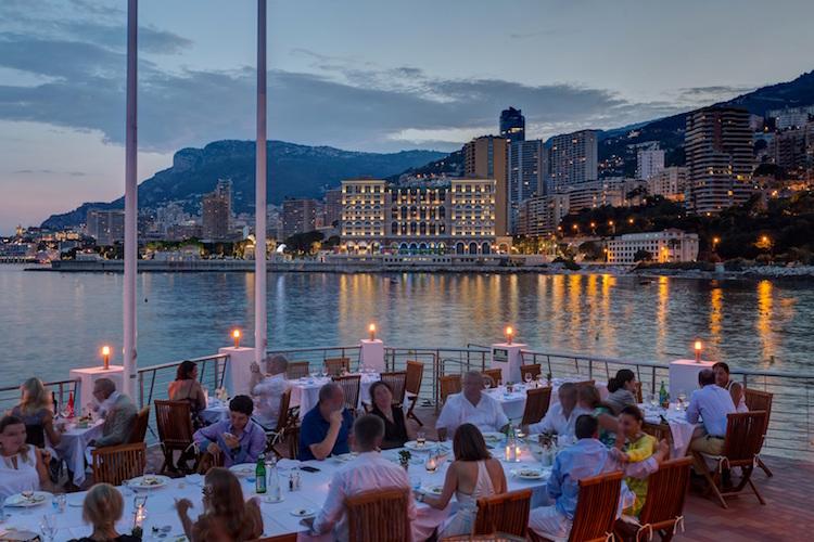 Monaco Events mit Ausblick
