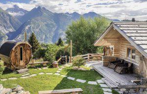 Outdoor-Wellness im Spa-Ferienhaus