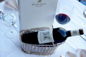 Wein-Event im Hotel Post Lermoos
