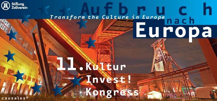 KulturInvest! Kongress Zeche Zollverein