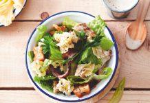 Tete de Moine AOP Rezept Caesars Salat