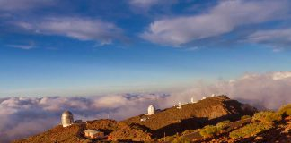 Sternwarte Astrotourismus auf La Palma