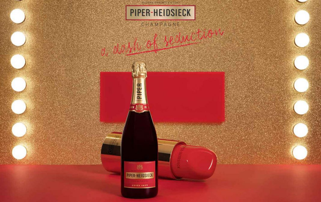 Piper-Heidsieck in Lipstick-Edition