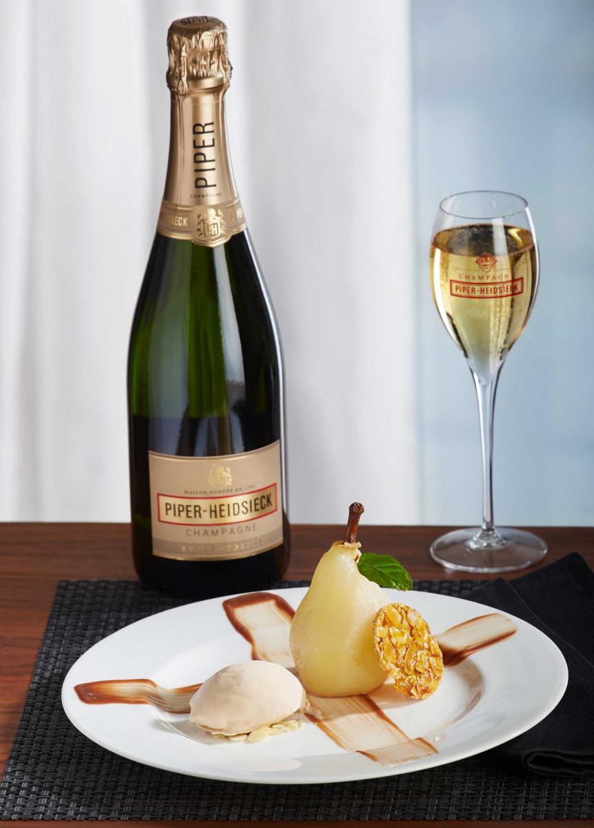 Champagnerdinner-Dessert