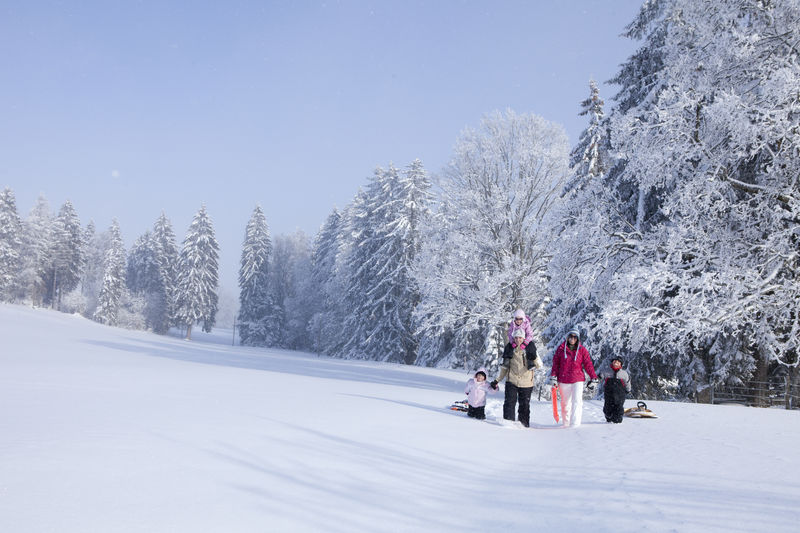 Hot Spots zum Wintersport in der Schweiz
