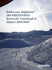 Was kosten Unterkunft und Skipass wo? Mit dem Ski-Preisindex den Überblick bewahren