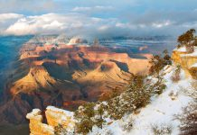 3 Lieblinsorte in den USA im Winter