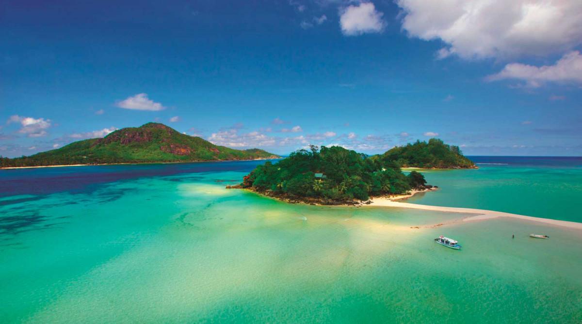 Seychellen aus der Vogelperspektive