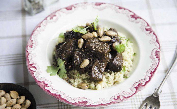 Rindfleisch mit marokkanischen Gewürzen