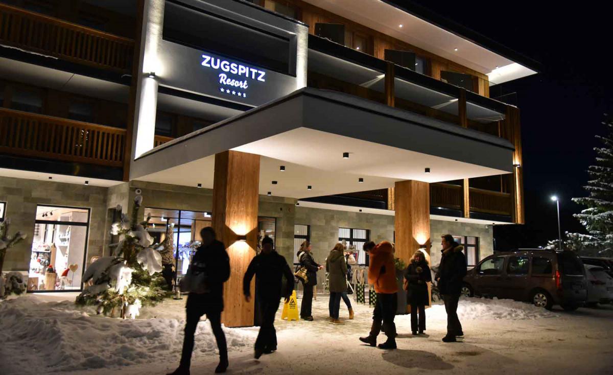 Start am Zugspitzresort