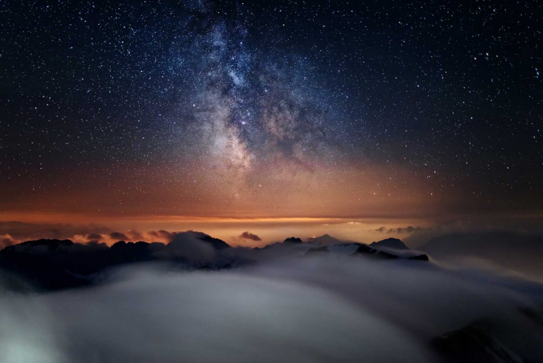 Erlebnis auf der Zugspitze: Sternenhimmel zum Greifen