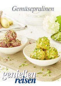 Gemüsepralinen als Fingerfood, Vorspeise oder Gruß aus der Küche