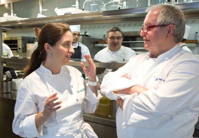 Elena Arzak und Juan Mari Arzak