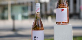 Balloon Girl von Banksy: Love & Hope Rosé