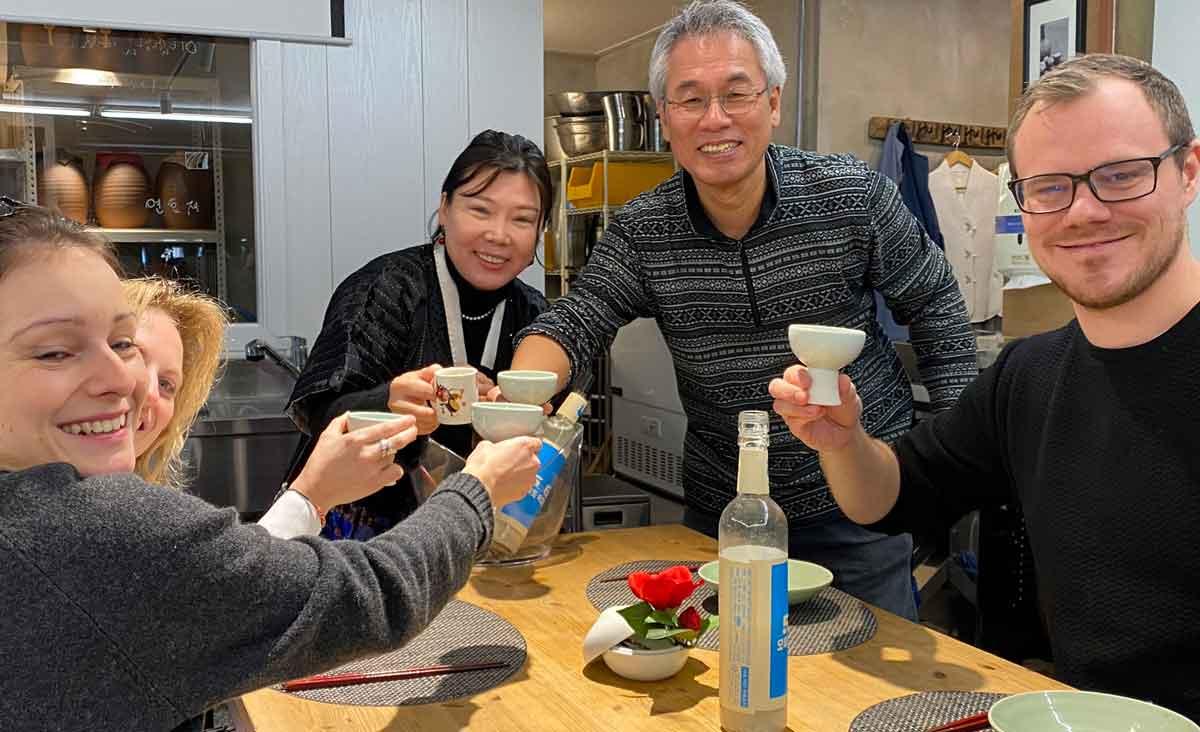 Makgeolli, das Nationalgetränk in Südkorea