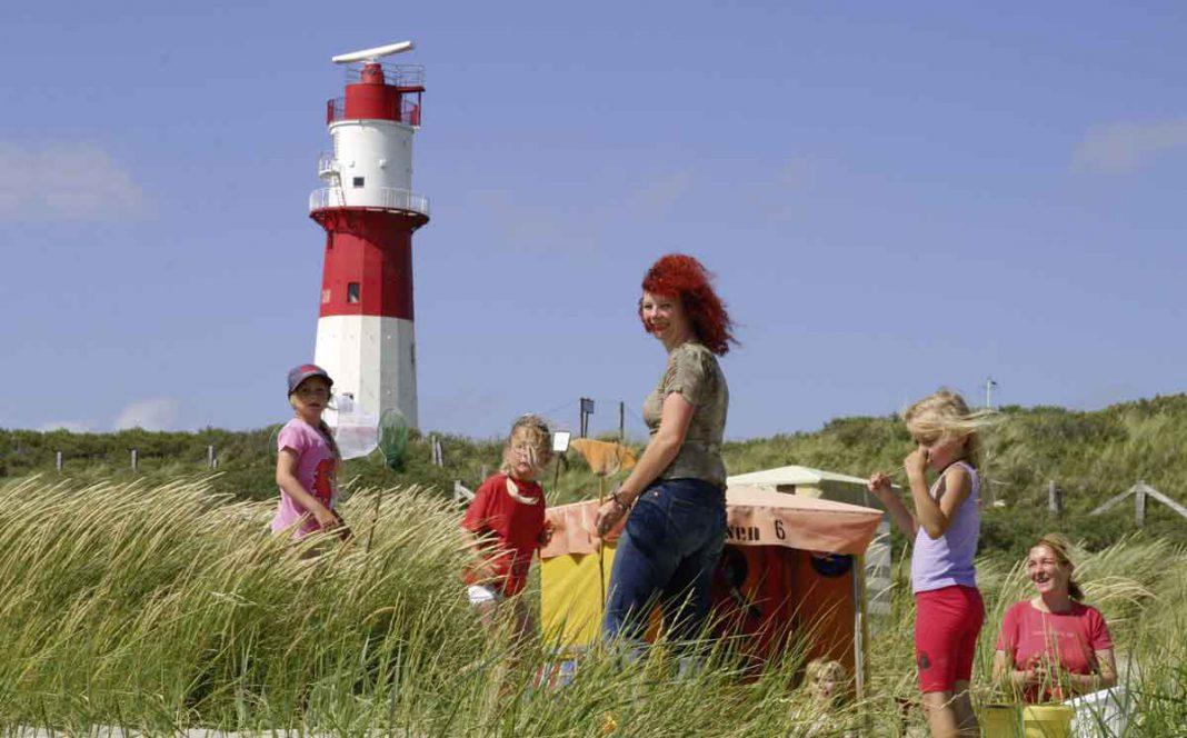 Borkum: Wind im Haar, Insel Deutschland