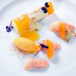 Flusskrebse – Blumenkohl – Clementine – Amarant