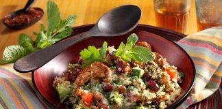 Orientalischer Couscous-Salat mit Putenstreifen