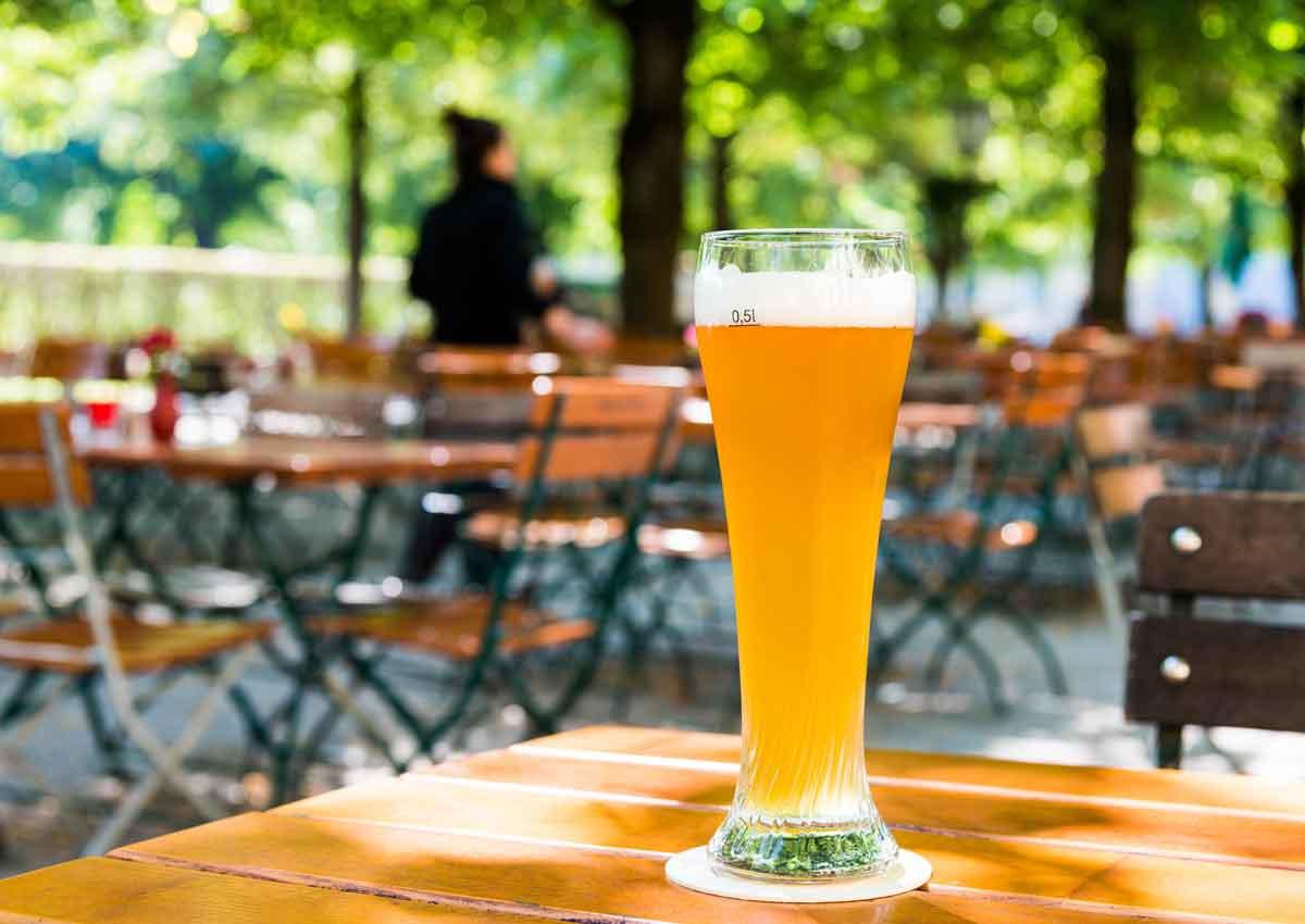 Jetzt hat der Biergarten Saison!