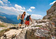Dolomiten erleben im Südtiroler Gourmethotel Sonnalp in Obereggen, Wandern, Südtirol, Italien
