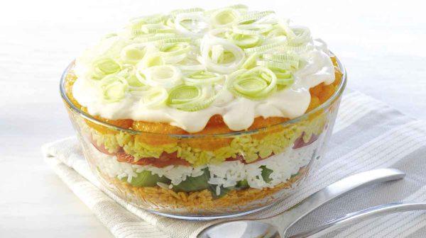 Schneller Reissalat Tricolore