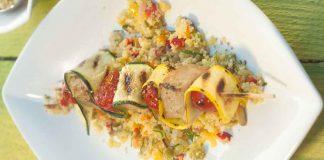 Gegrillter Thunfisch mit Couscous-Gemüse-Salat von Johann Lafer