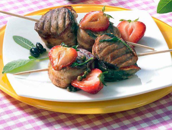 Marinierte Fleischspieße und die perfekte Grillmarinade